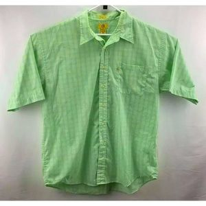 Duck Head Wrinkle Free Short Sleeve Button Up XL